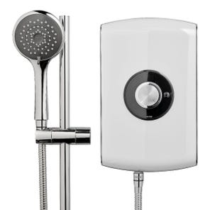 Amore Electric Shower - Gloss White