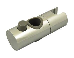 Shower 19mm Head Holder - Chrome/Grey