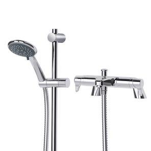 Eden TMV2 Bath Shower Mixer with Shower Kit