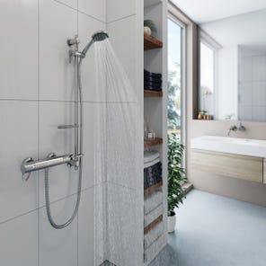 Elina Type 3 TMV Inclusive Bar Mixer Shower + Grab