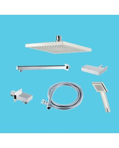 Dual Outlet Mixer Shower Combination Pack 3 - Square Edge