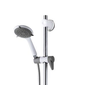 Inclusive Shower Kit with Grab Rail