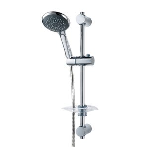Lewis-8000 Series | Fast-Fit Shower Kit - Chrome