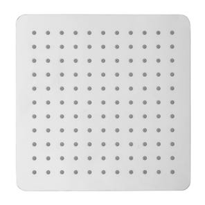 Evie Square Edge Fixed Shower Head - 200mm