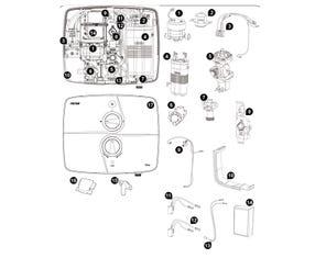 T90SR Pumped Electric Shower -  Satin Spares