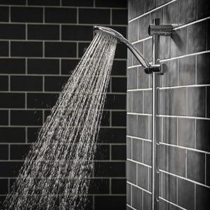 8000 | Care Five Spray Shower Head  - Chrome