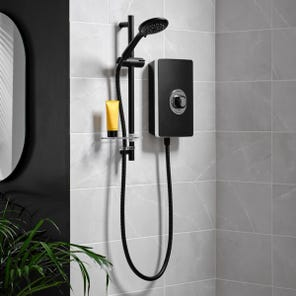 Aspirante Electric Shower - Matte Black