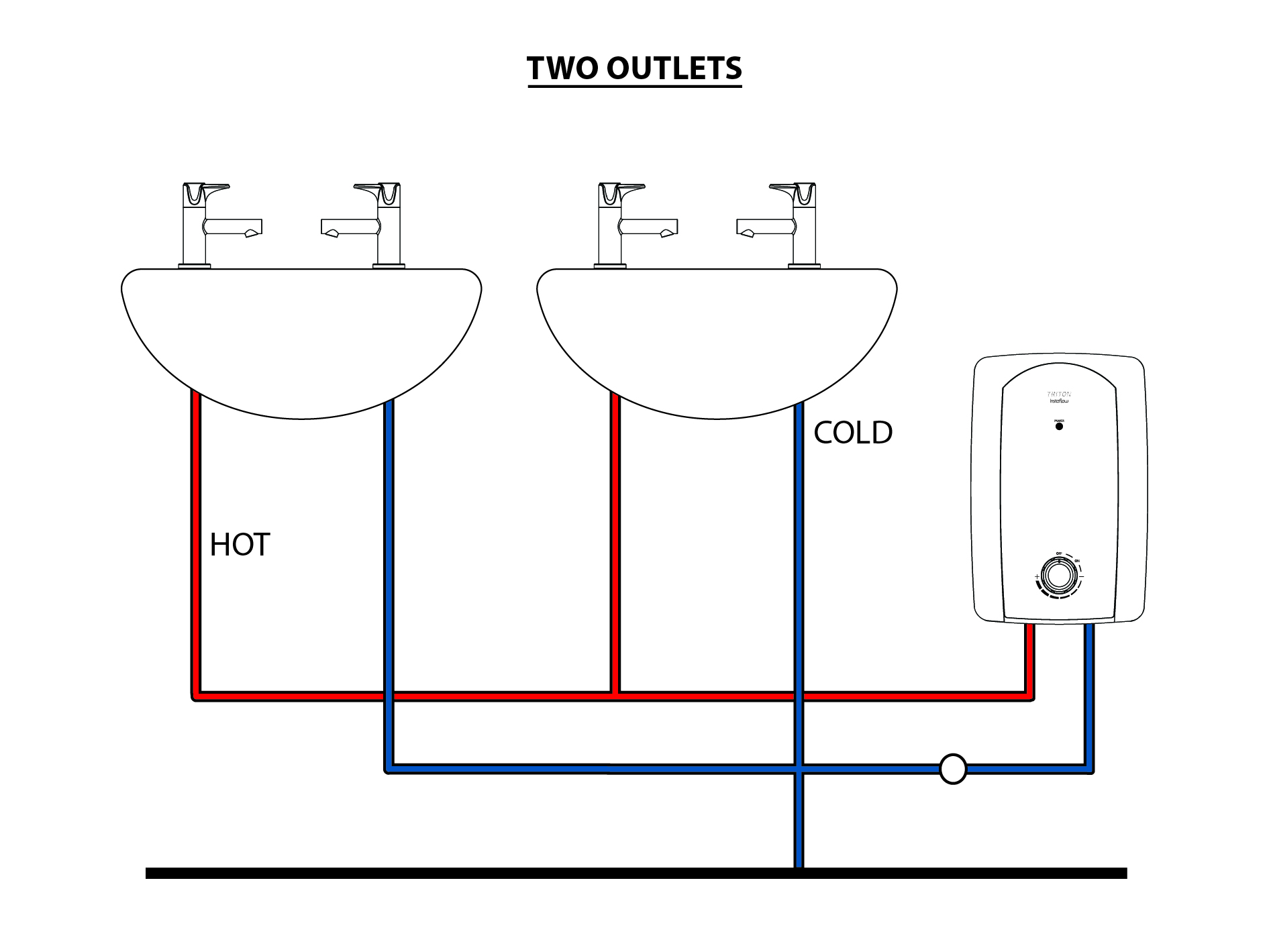 Instaflow Instantaneous Water Heater Multi Point