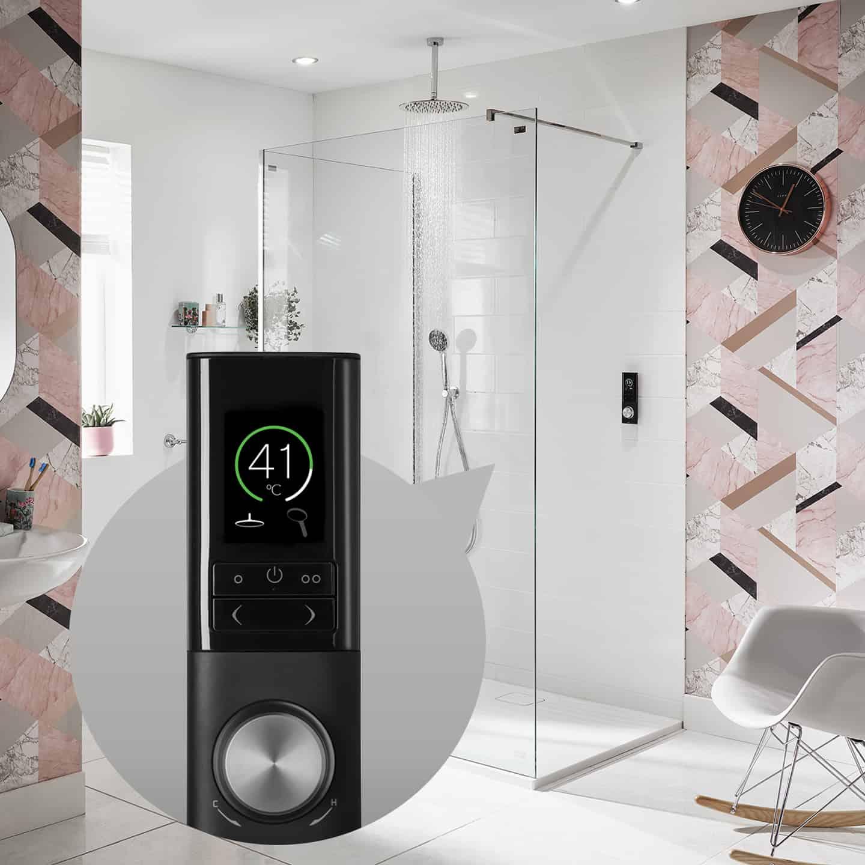 HOST Digital Mixer Shower - Silent Running